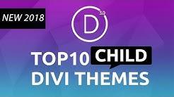 Top 10 Best Divi Child Themes 2018