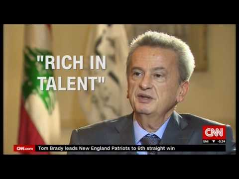 Marketplace Middle East: CNN's John Defterios talks to Governor Riad Salame