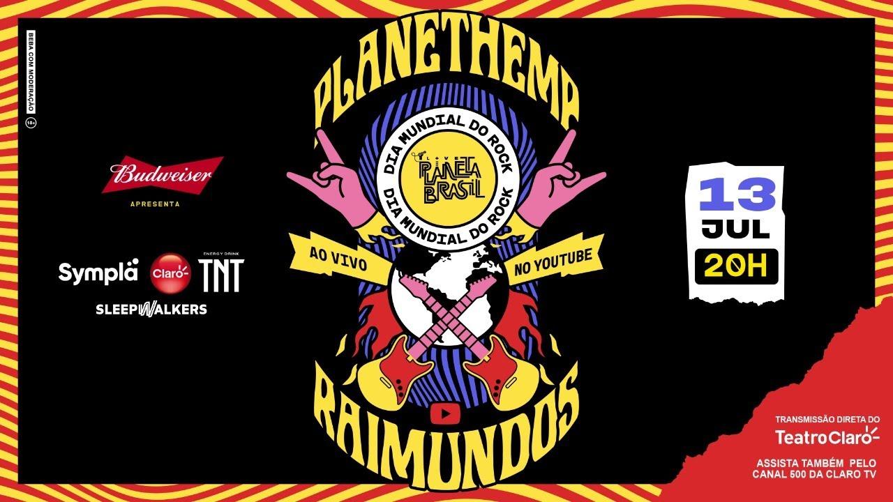 PLANET HEMP + RAIMUNDOS #LivePlanetaBrasil | Fique Em Casa e Cante ...