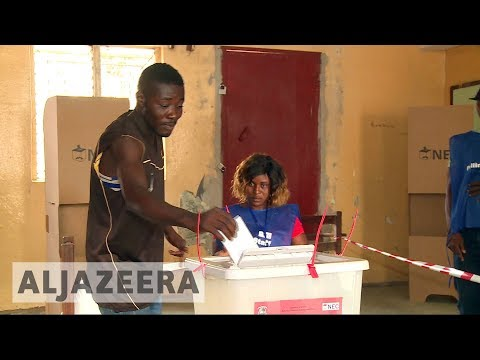 Liberia election: Counting begins in presidential poll