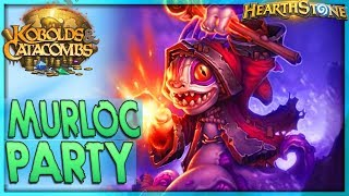 [HEARTHSTONE] Patch 10.2 Murloc Party - Aggro Paladin Deck Guide & Gameplay 🌟 Kobolds Catacombs