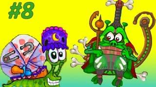 Игра про УЛИТКУ БОБА Snail Bob 2 – СПАСЛИ УЛИТКУ ДЕДУШКУ. Приключения Веселой УЛИТКИ! Часть #8