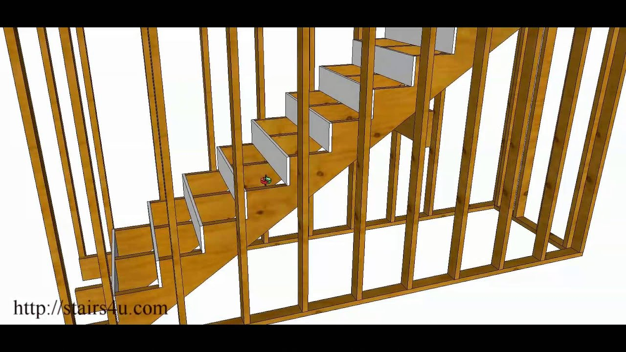 Should You Use Supporting Walls Or Risers For Long Stairway Construction?