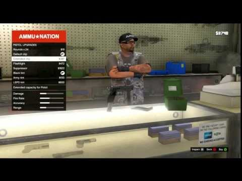 Gta 5 Gun Customization Full Download Gta 5 Gun