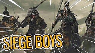BIG SIEGE BOYS   Conqueror