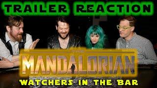 Mandalorian Final Trailer Reaction Watchers in the Bar