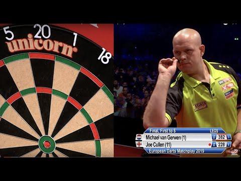 Van Gerwen v Cullen - Final - 2019 European Darts Matchplay