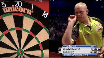 Van Gerwen v Cullen - Final - 2019 European Darts Matchplay