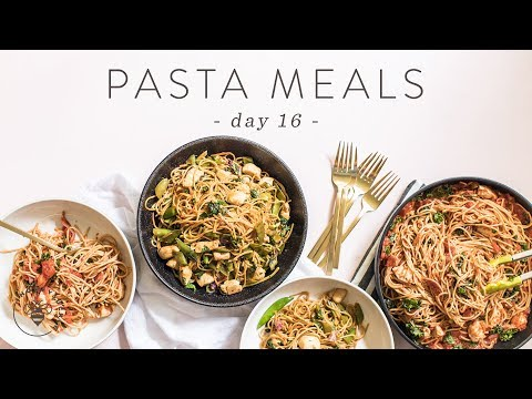 Healthy Pasta MEAL PREP on a Budget: 8 MEALS for $26 🐝 DAY 16