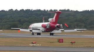 Boeing 727 powerful Jet Noise Shocking Spectators