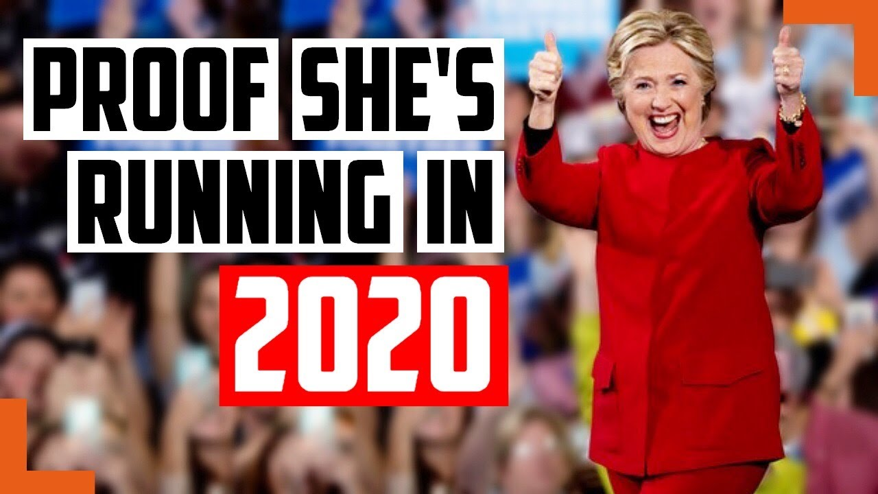 Body Language Proof Hillary Clinton Is Running For President In 2020