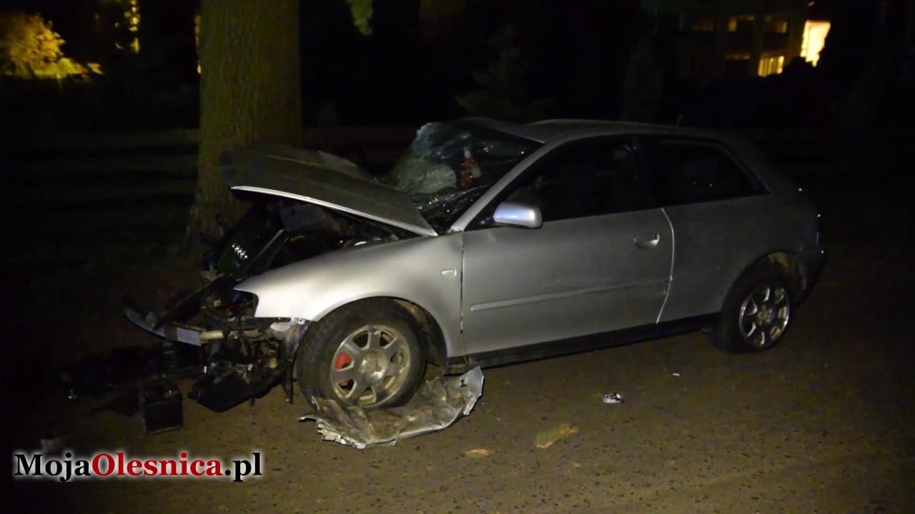 18052017 Królewska Wola Wypadek Audi A3 Youtube
