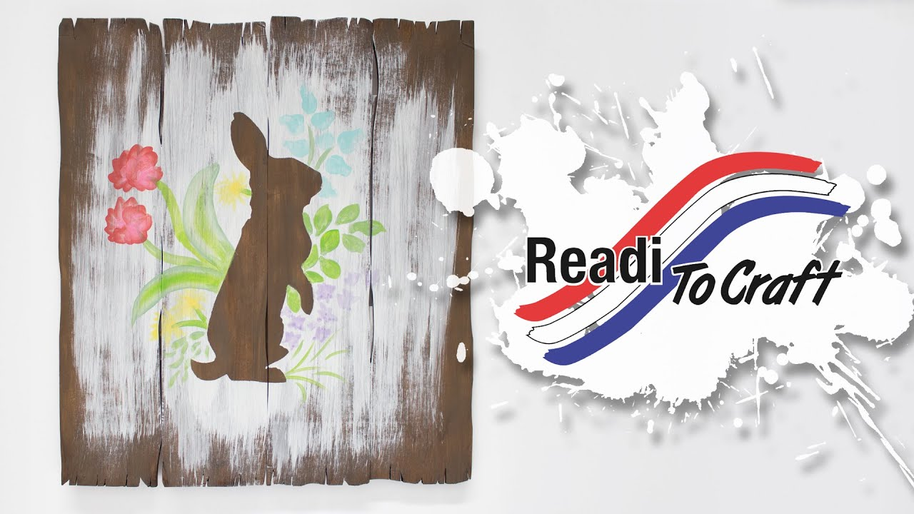 Readi to Craft: Faux Wood Easter Art