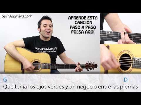 acordes soldadito marinero en guitarra acordes tabs tutorial y ritmo de como tocar Fito