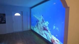 MY MONSTER BORDERLESS PROJECTION SCREEN 180