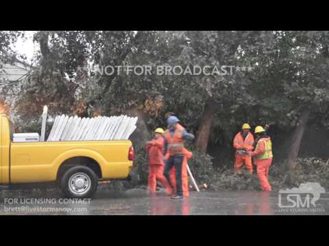 2-17-17 Los Angeles, California Winds - Flooding - Rains