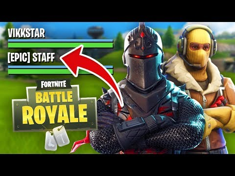 PLAYING FORTNITE with an EPIC EMPLOYEE