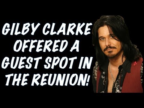 Guns N' Roses News  Gilby Clarke Offered Guest Spot in Reunion & Steven Adler Update! Rock in Rio! Mp3