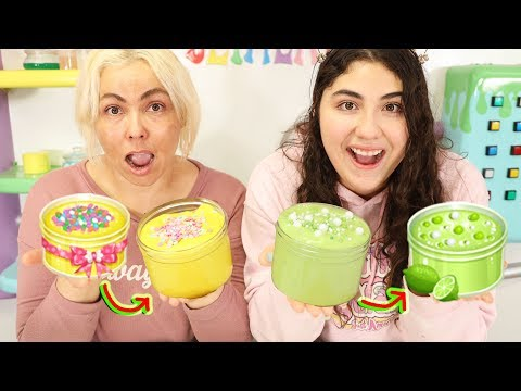 WHO CAN RECREATE THE BEST SLIME CHALLENGE! Slimeatory #594 - YouTube