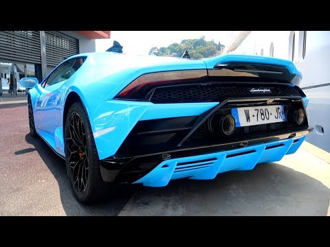 Lamborghini Huracan EVO : PREMIÈRE livrée au MONDE !