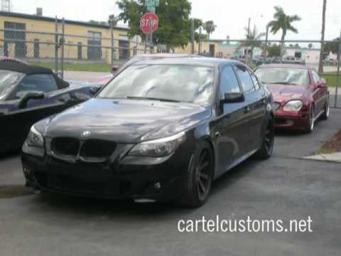 Custom 2008 BMW 550 22 Forgiatos Wheels BigIrv305