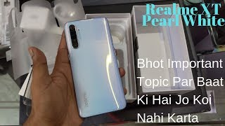 Realme XT Pearl White 6GB RAM 64 ROM Unboxing In Hindi | Camera Sample & Price In India