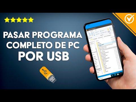 Cómo Transferir o Pasar un Programa Completo de una Computadora a otra por USB