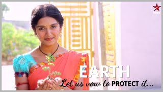 Lets take an oath to save our mother earth. Wishing you all a Very Happy #EarthDay