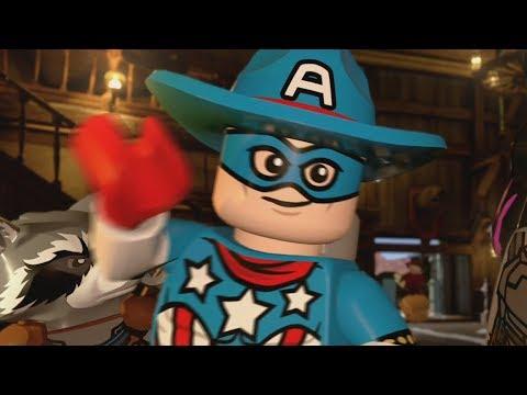 LEGO Marvel Superheroes 2 Walkthrough Part 6 - High-Noon Saloon