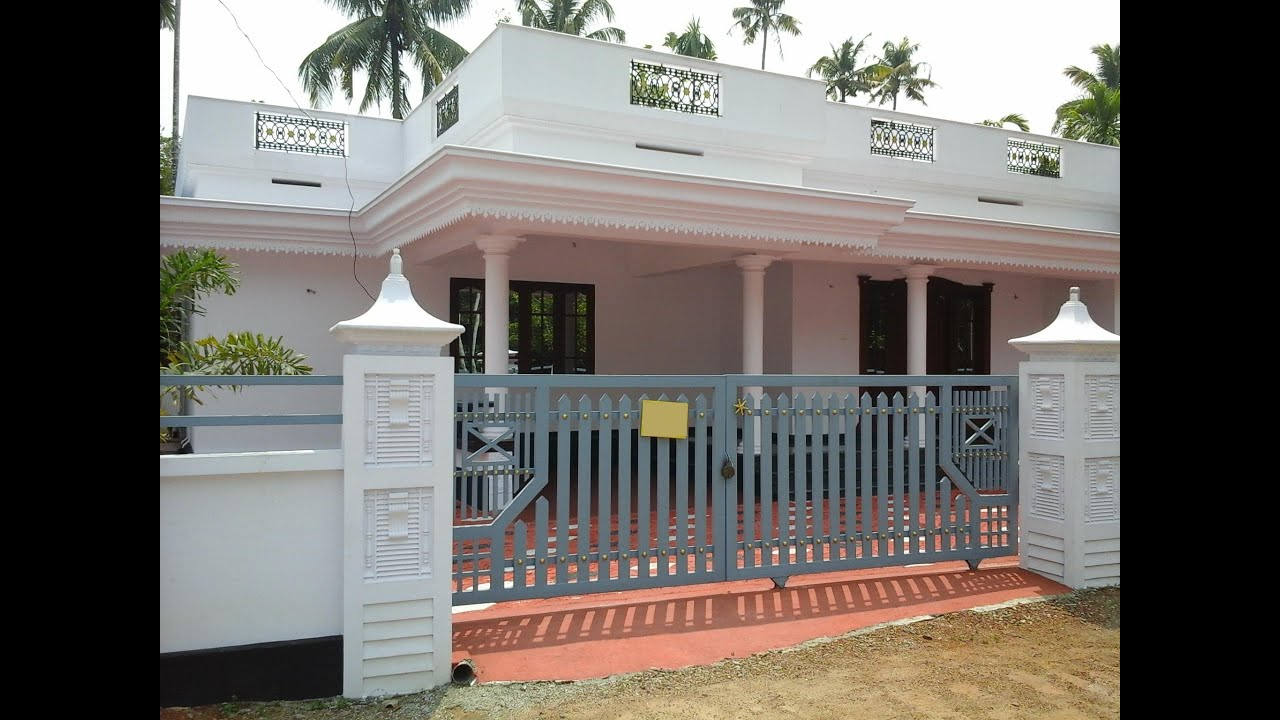 New single floor 3 bhk house for sale in kochi angamaly for Single floor house designs tamilnadu