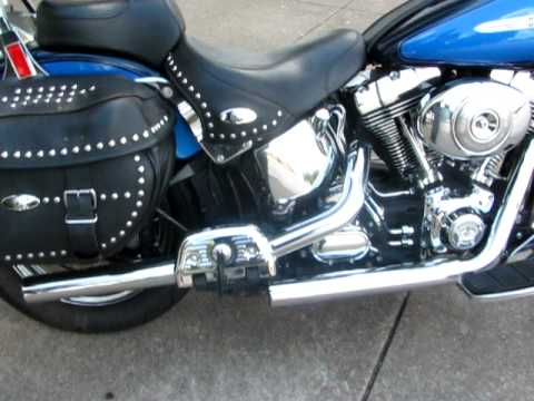 2005 harley davidson Heritage softail, Vance and hines exhaust