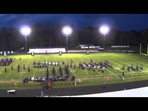 Central Crossing High School Marching Band - The Heart of The Warrior 2014