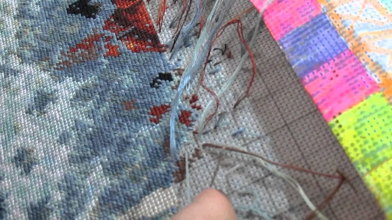 Из старых ниток для вязания 15