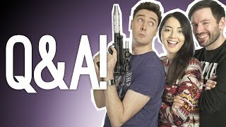 Outside Xtra Q&A! Jedi Fallen Order Reaction! E3 2019!