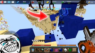 Trolling is SUPER FUNNY in Bedwars!! 😂🤣 (Blockman GO Funny Moments)