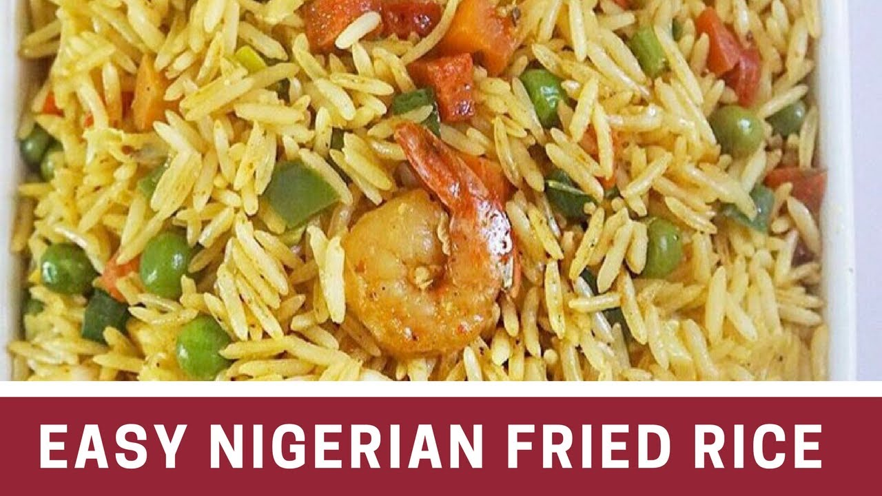 Easy nigerian fried rice seafood version youtube easy nigerian fried rice seafood version ccuart Gallery