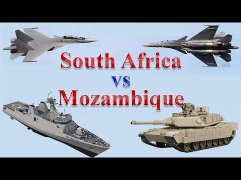 South Africa vs Mozambique Military Comparison 2017