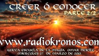 CREER O CONOCER 2/2
