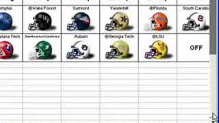 Video Very cool NCAA 2008 Football Schedule (Excel) download MP3, 3GP, MP4, WEBM, AVI, FLV Januari 2018