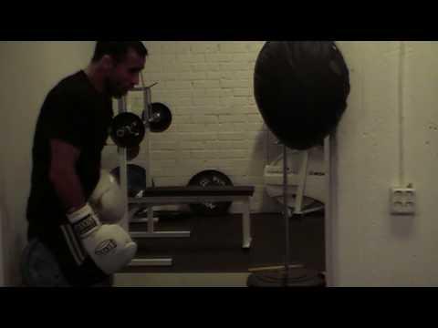 Isam Khalil working-out @Starfights gym