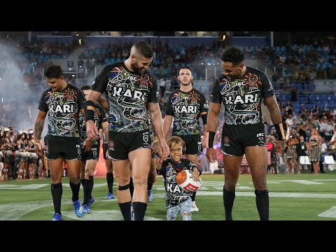 Bullying Victim Quaden Bayles Leads NRL All Stars Onto Field