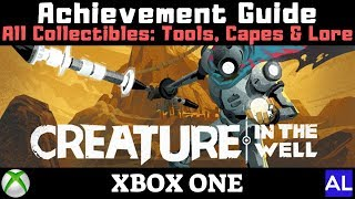 Creature in the Well (Xbox One) All Collectibles: Tools, Capes, Upgrades and Lore