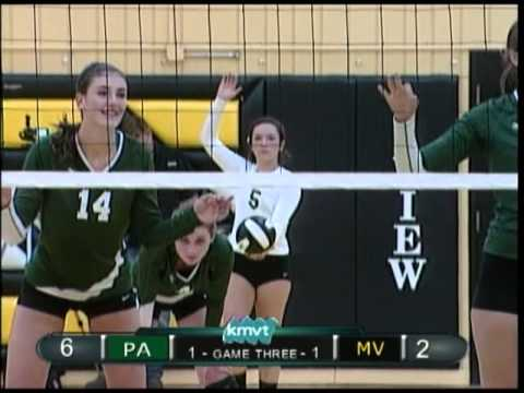 Mountain View vs Palo Alto Volleyball