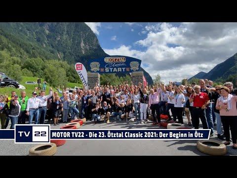 MOTOR TV22: Der Start der 23. Ötztal Classic 2021 in Ötz