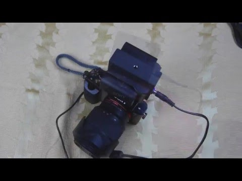 Indipro LP-E6 to NP-FW50 external power supply for Sony a7/A7R/A7S/A7ii