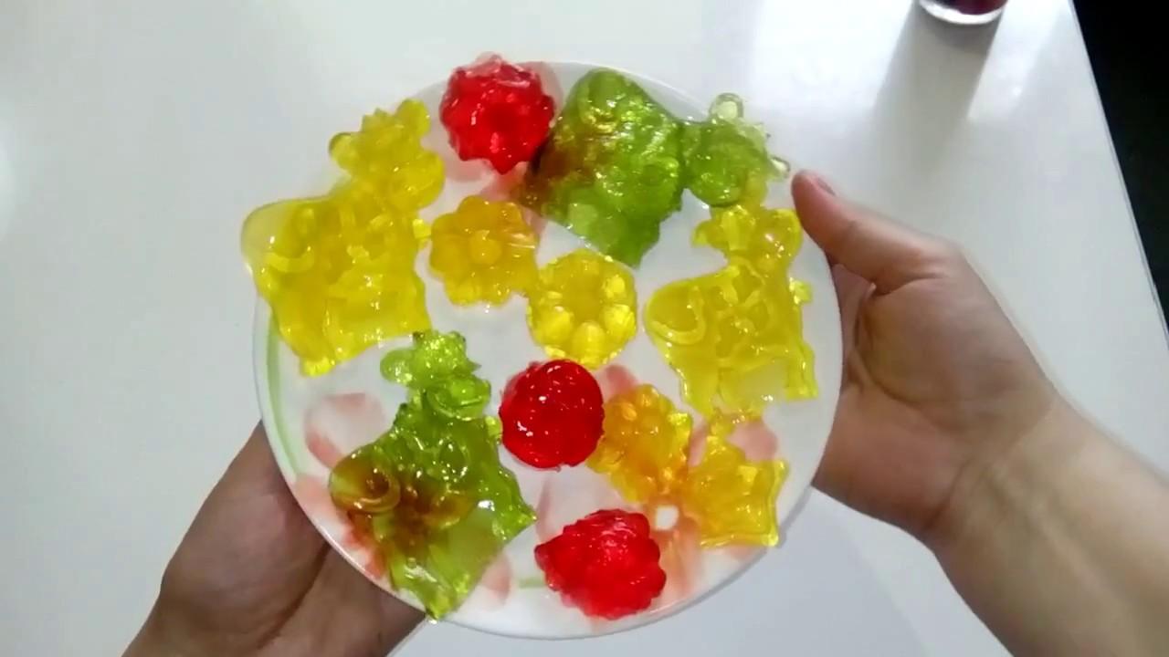 рецепт желе в силиконовых формах