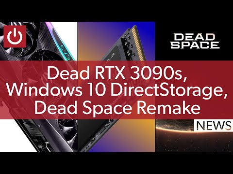 PC News: RTX 3090 Killing Game, DirectStorage on Windows 10, DLSS & RTX On ARM, And More