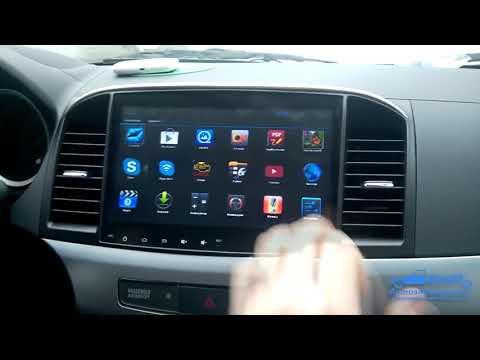 Mitsubishi Lancer X Android Автомагнитола Новая 2020
