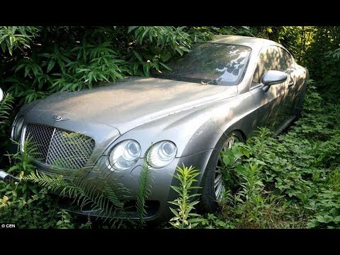 12 Most Incredible Abandoned Millionaires Cars!