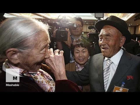 North and South Koreans Reunite for 3 Precious Days After Decades Apart | Mashable News